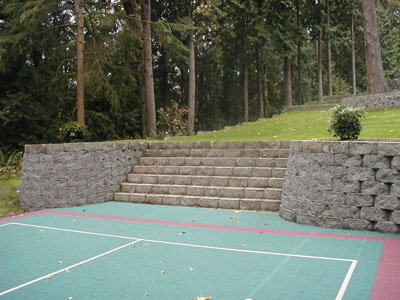 Project Photos: Cement Retaining Wall. Hereu0027s ...